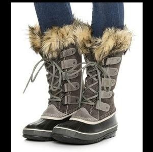 Sorel Joan Of Arctic Shale Boots Size 9